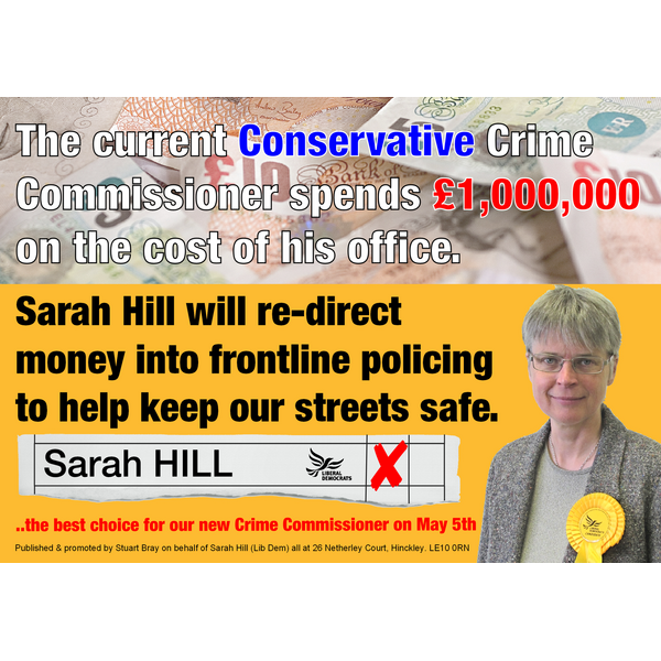 Sarah PCC Office Costs