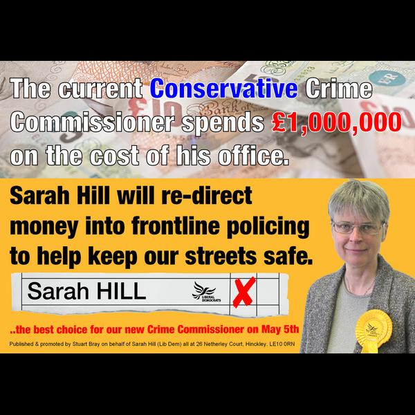 Sarah PCC Office Costs