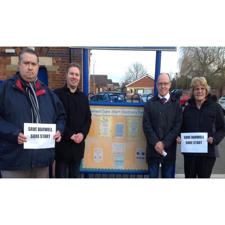 The Tory-run County Council plans to close Barwell Children's Centre