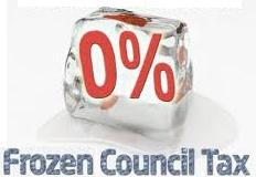 Council Tax frozen